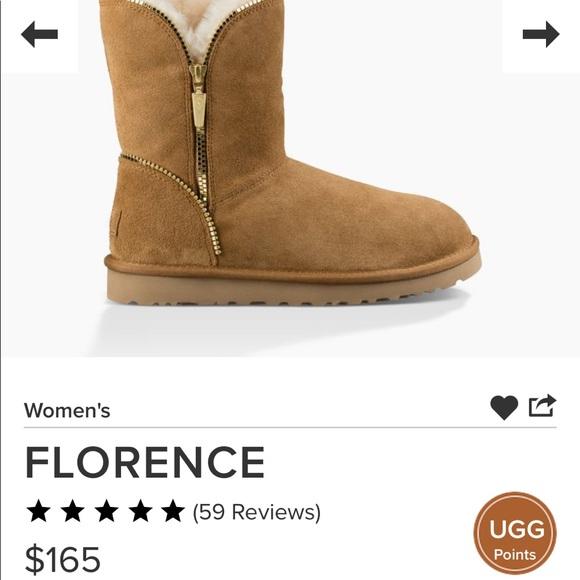 72befa0127b UGG boot Florence Chestnut